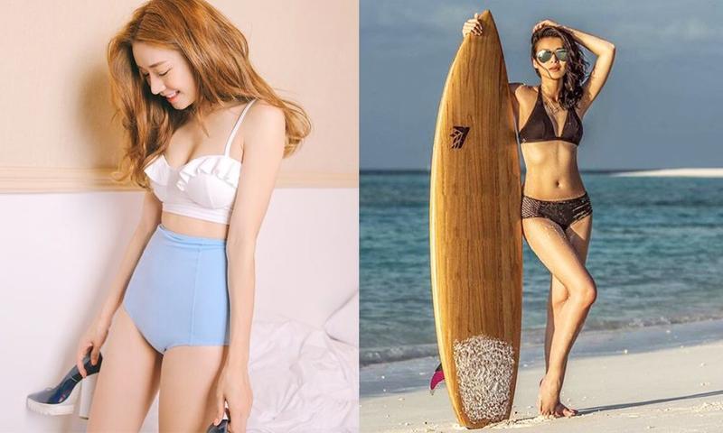 想去沙滩又来不及减肥?不用怕!用泳衣隐藏自己身材缺点